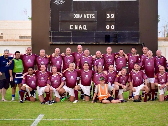 Doha Rugby Football Centre   Vets Team Photo Gallery